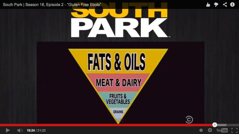South Park kör ett glutenfritt LCHF-avsnitt