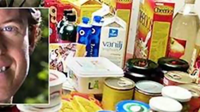 """Colting: """"Vanlig mat"""" leder till vanlig ohälsa"""