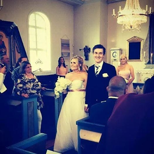 Kolla vem som just gift sig!