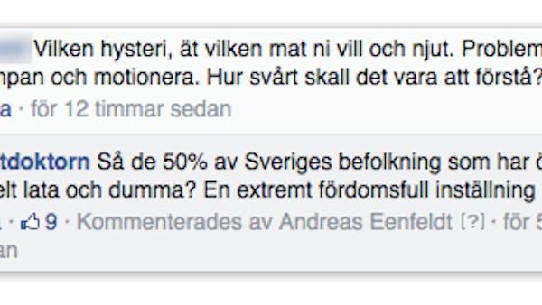 Fördomar på Facebook
