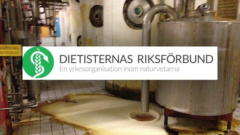 Dietisternas Riksförbund säljer sig till margarinbolag