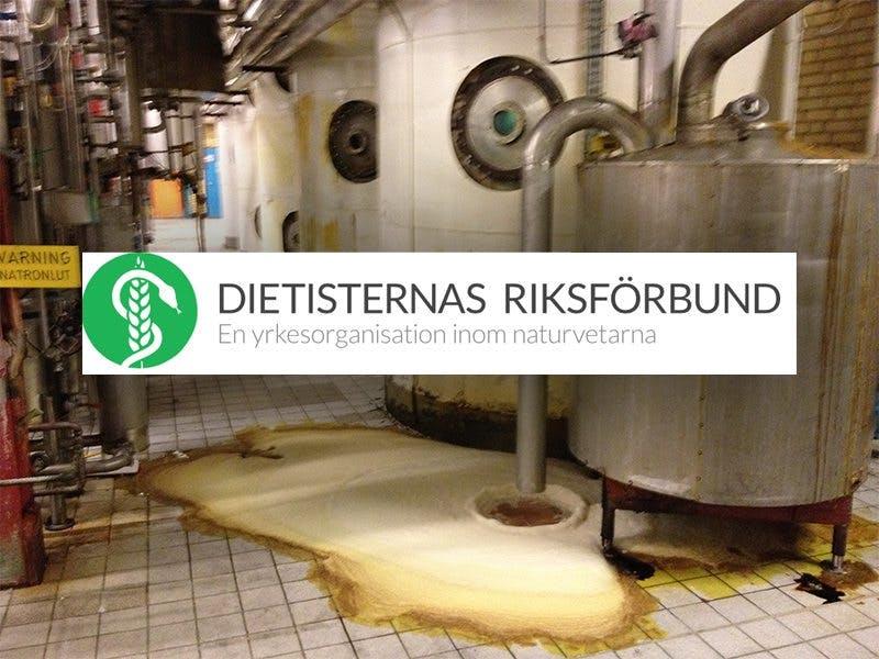 Margarinfabrik – bra för folkhälsan enligt DRF