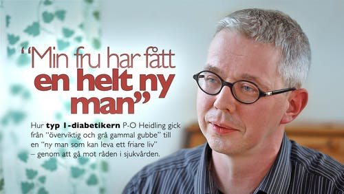 """""""Min fru har fått en helt ny man"""" - P-O Heidling"""