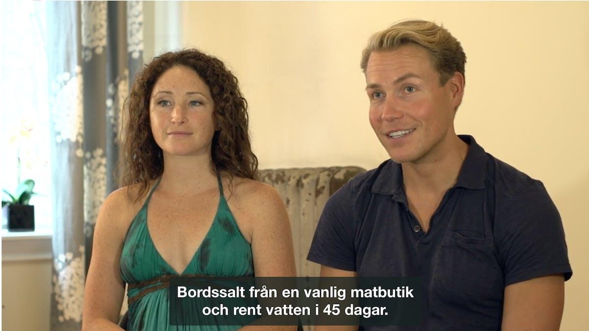 Sami Inkinen och Meredith Loring
