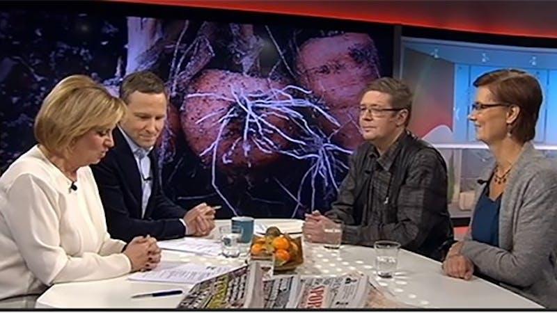 Debatt i SVT om Livsmedelsverkets kostråd