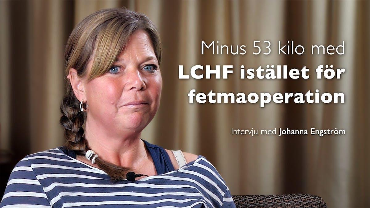 Hur Johanna Engström undvek en fetmaoperation