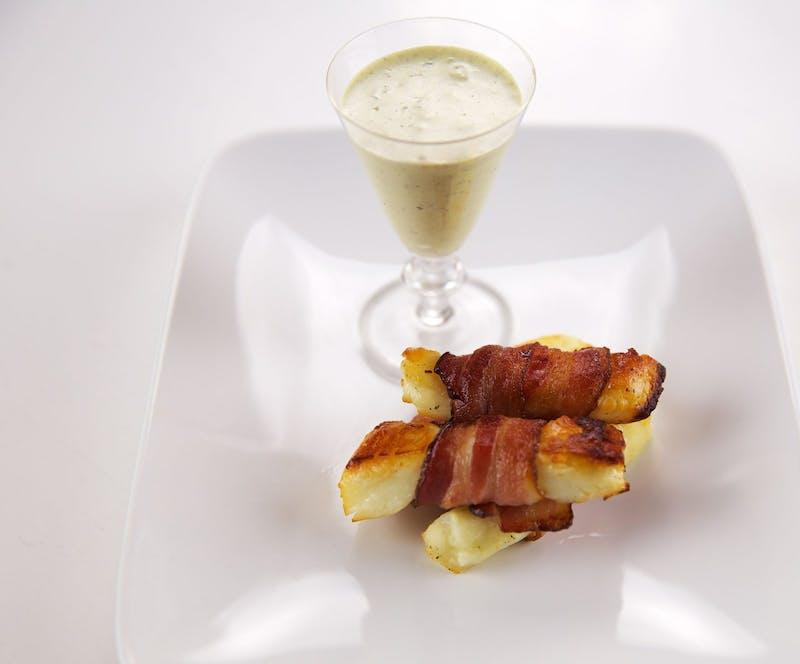 Bacon & Halloumi