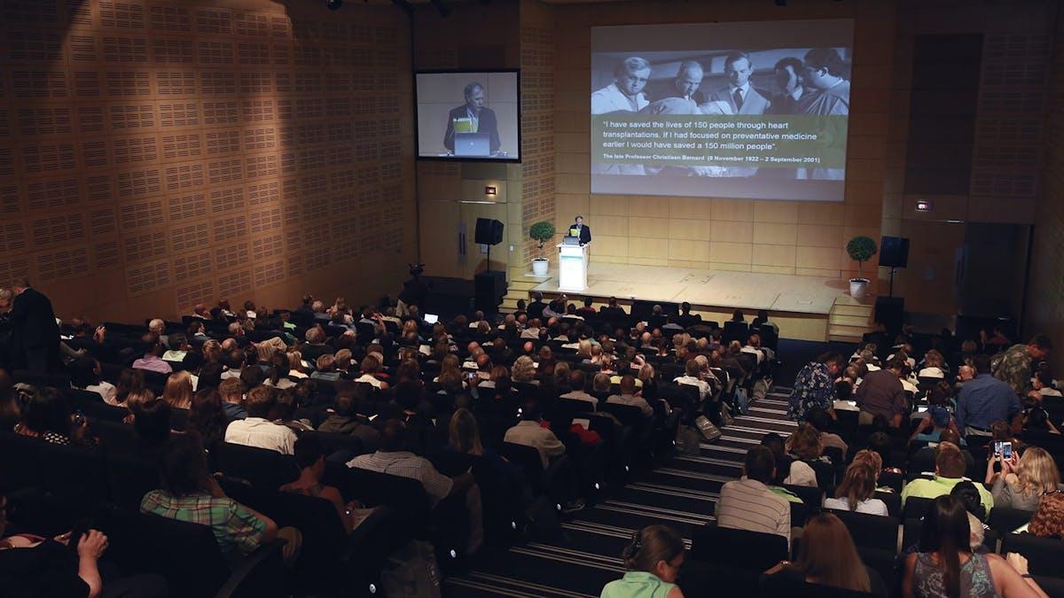 Starten på den fantastiska LCHF-konferensen