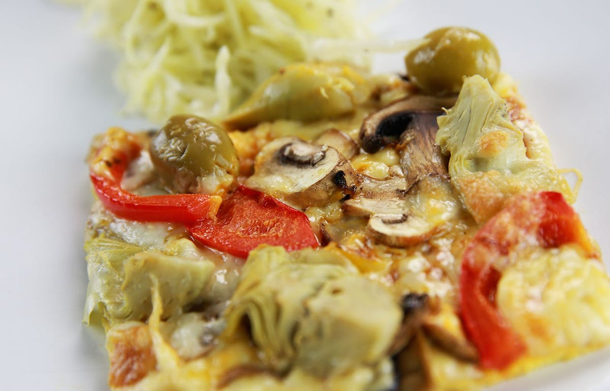 Vegetarisk LCHF-pizza