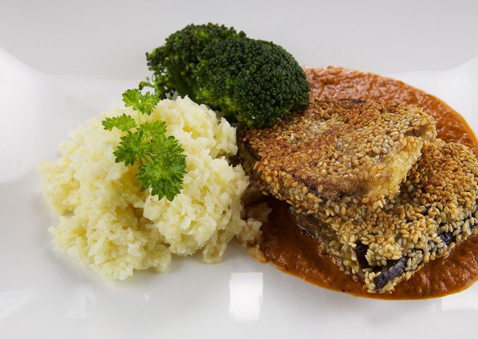 Vegetarisk tisdag: Omelett med fetaost och ruccola