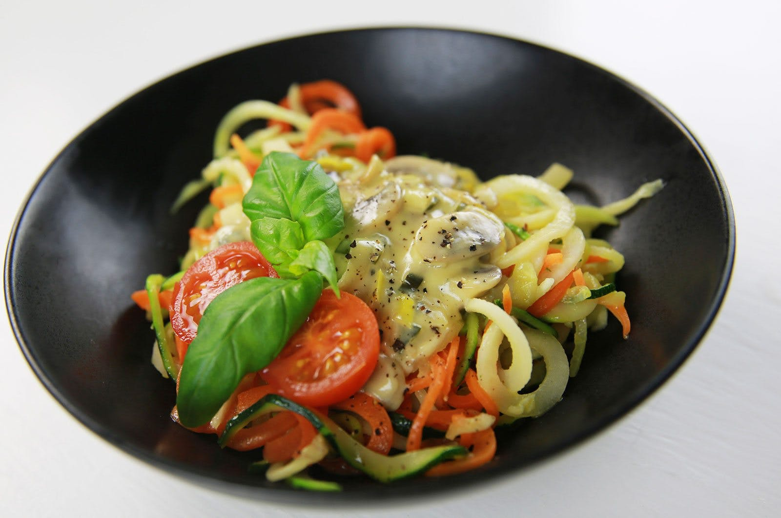 Vegetarisk LCHF-lördag: Halloumiburgare med kålrotspommes!