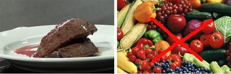 lever vs grönsaker