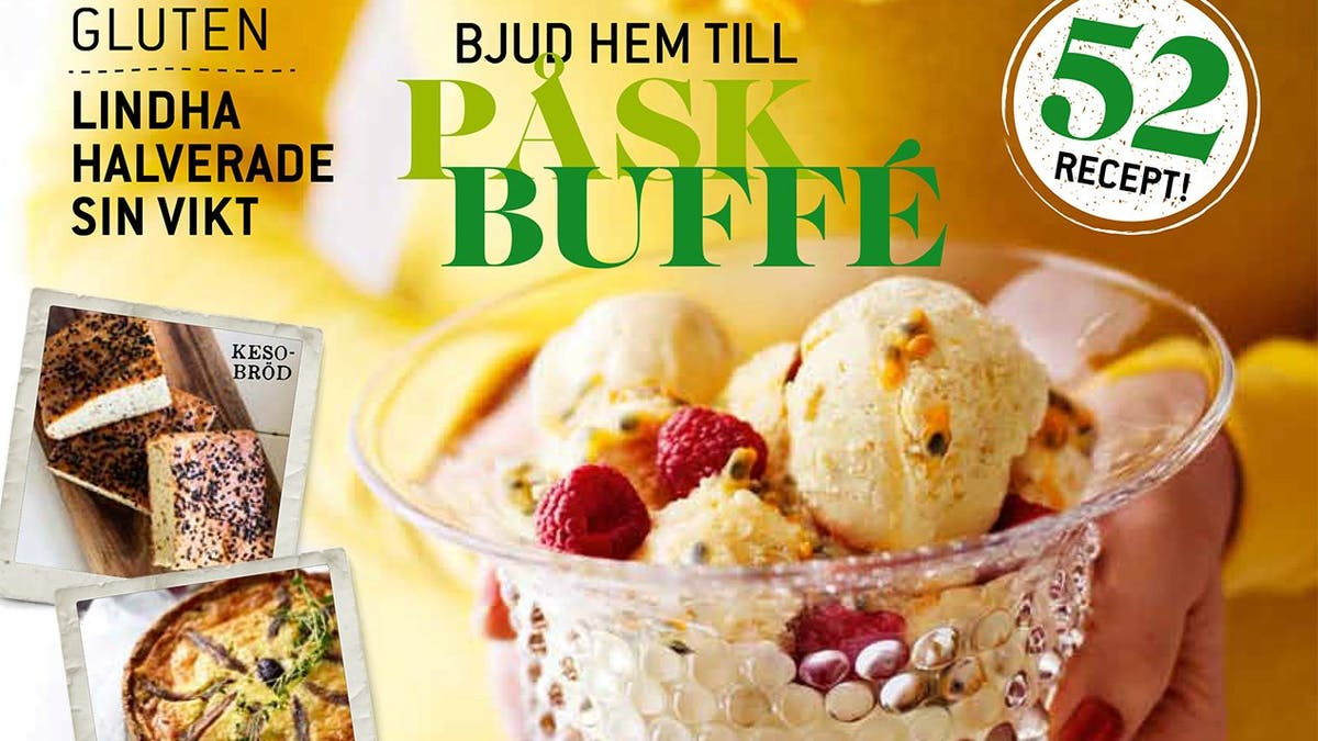Första numret av nya LCHF-tidningen Matkärlek finns nu i butikerna!