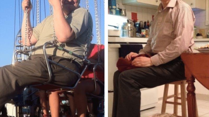 Hur Julians syster förändrade hans liv –och fick honom att gå ner 36 kg