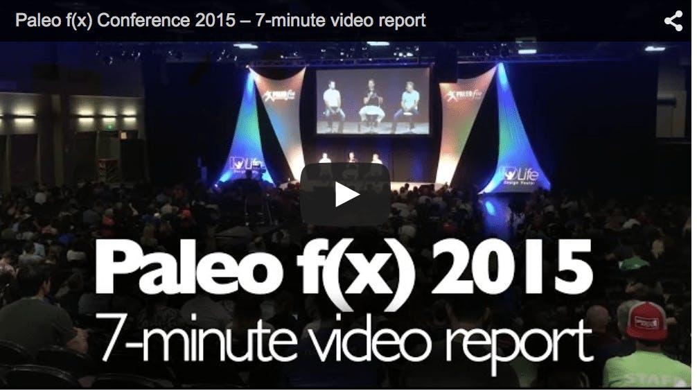 Vårt videoreportage från Paleo f(x) 2015