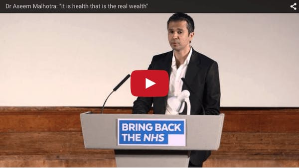 """""""Hälsa är den verkliga rikedomen"""""""