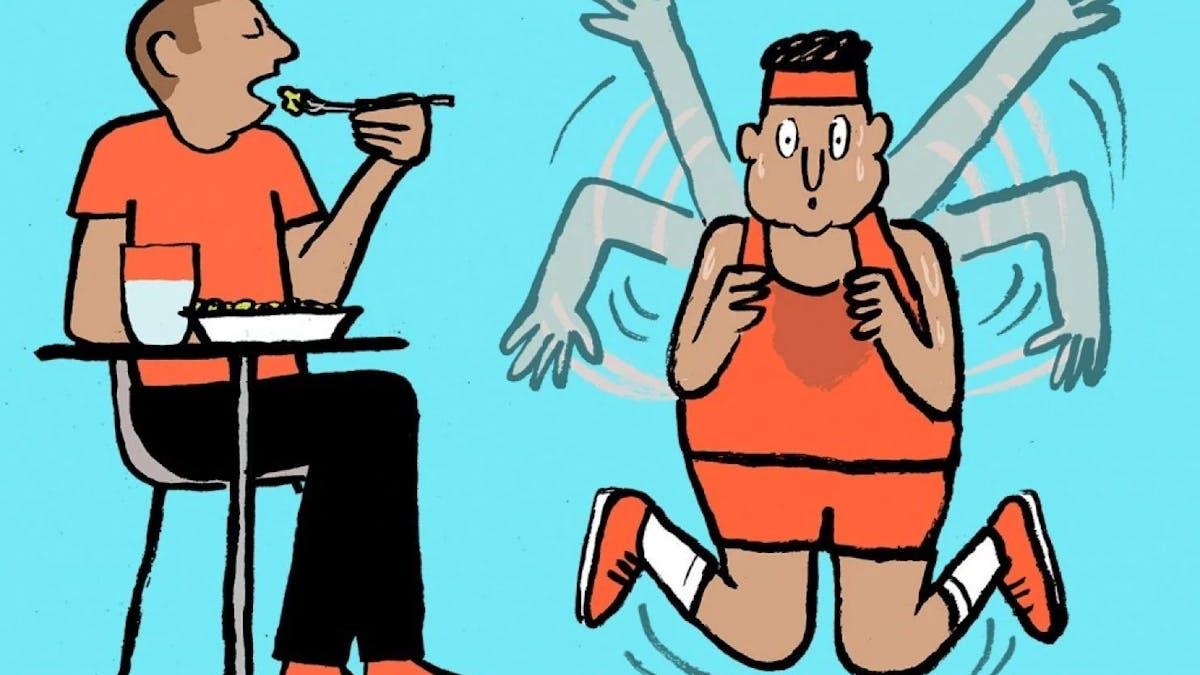 """""""Bara träning räcker inte för att gå ner i vikt"""""""