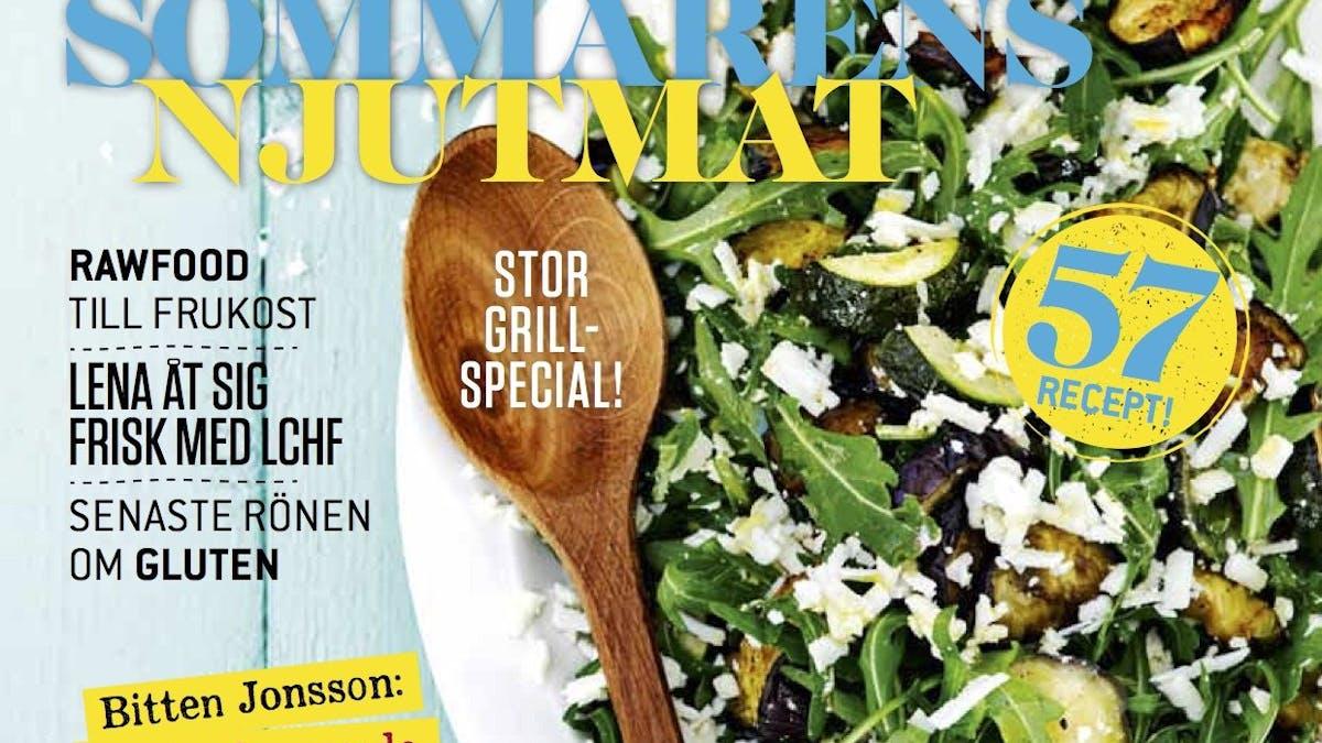 Sommarens njutmat och grillspecial i nya numret av Matkärlek