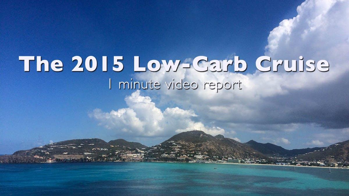 Lågkolhydratkryssningen 2015 –kort videoreportage