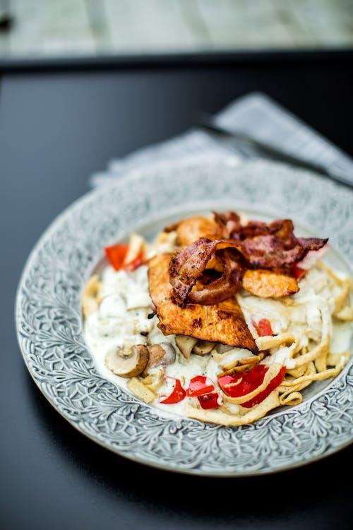 Kyckling Alfredo med LCHF-pasta