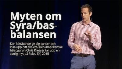 Myten om syra/bas-balansen – Chris Kresser på Paleo f(x) 2015-HD