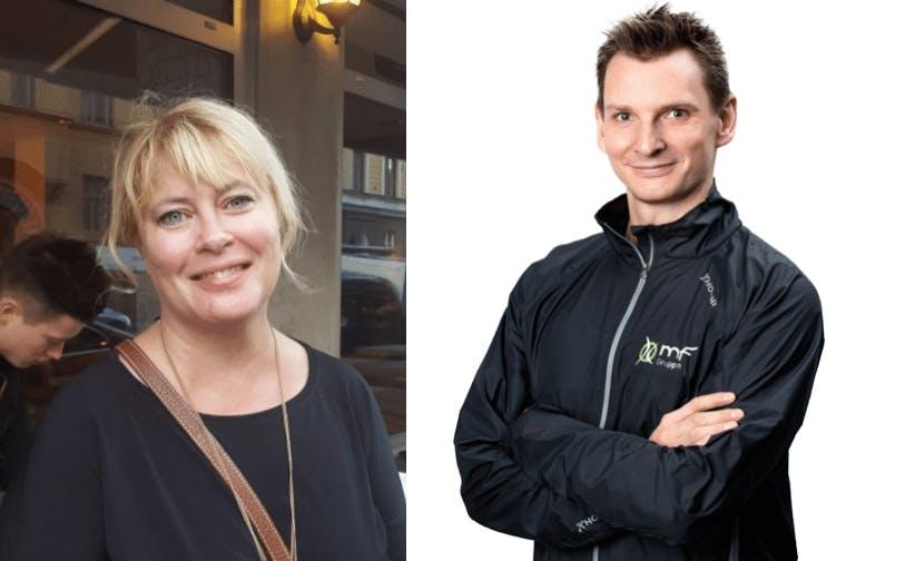 Cecilia Nilsson och Jonas Bergqvist