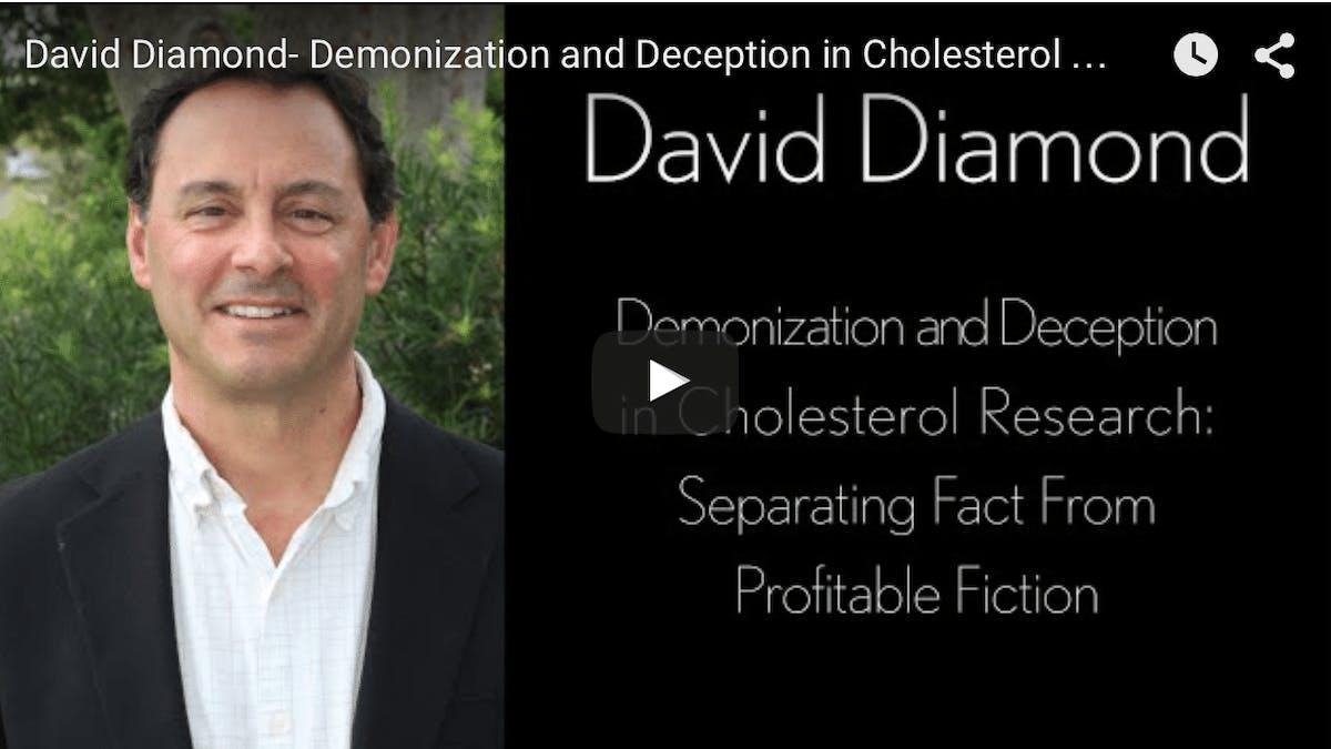 Demonisering och vilseledning i kolesterolforskning –presentation av professor David Diamond