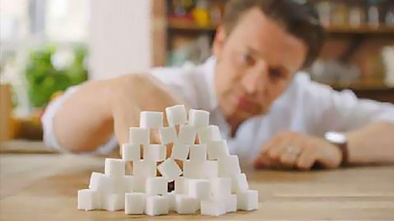 Jamie får 100 000 underskrifter för en sockerskatt
