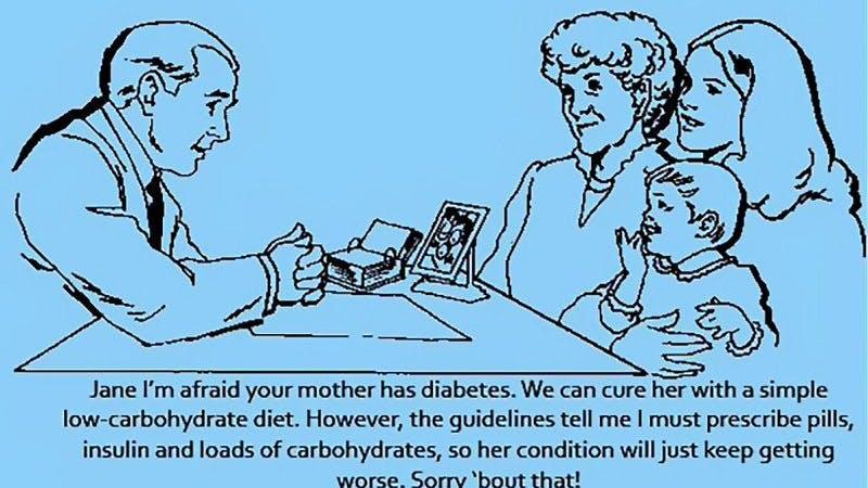 """""""Jag är rädd att din mamma har diabetes"""""""