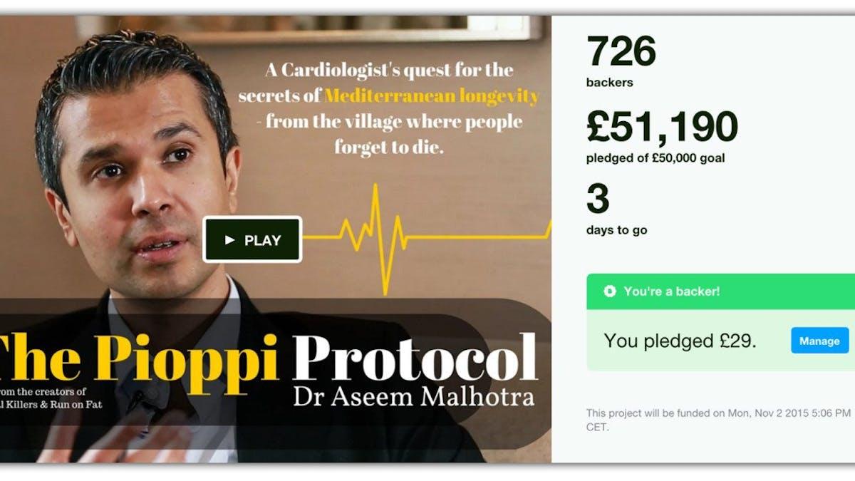 Kickstartern för Pioppi har nått målet!