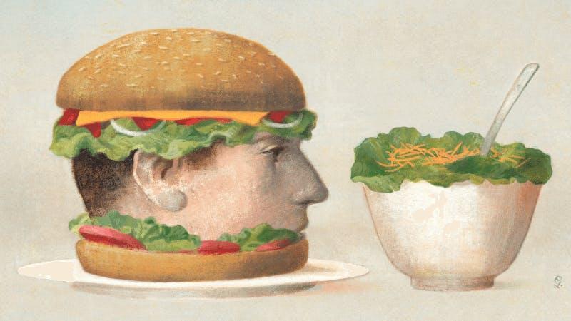 """""""Hur sallad kan göra oss tjocka"""""""