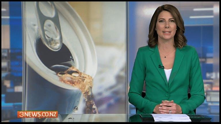 Läsk bannlyst från sjukhus i Nya Zeeland