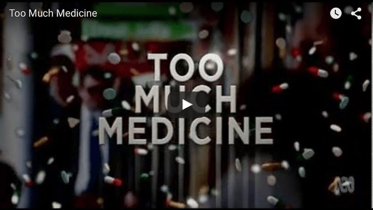 För mycket medicin: Hur jakten på god hälsa kan göra oss sjuka