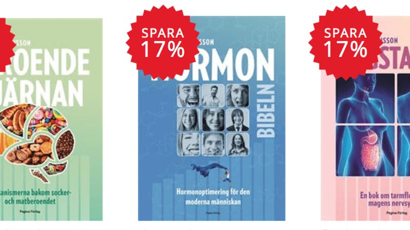 Specialpris på Martina Johanssons böcker