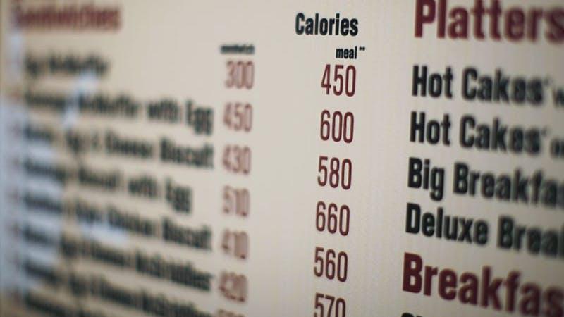 Varför kaloriräkning på menyer har misslyckats
