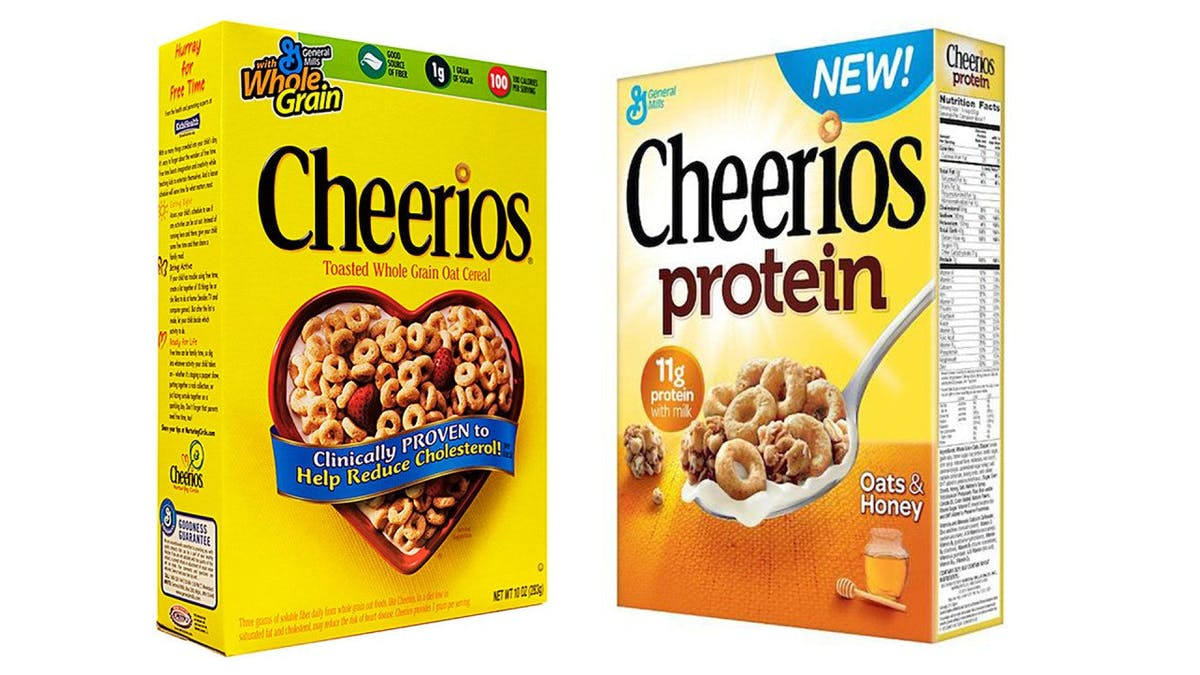 Cheerios Protein: Försumbart mer protein men SJUTTON GÅNGER mer socker än originalet