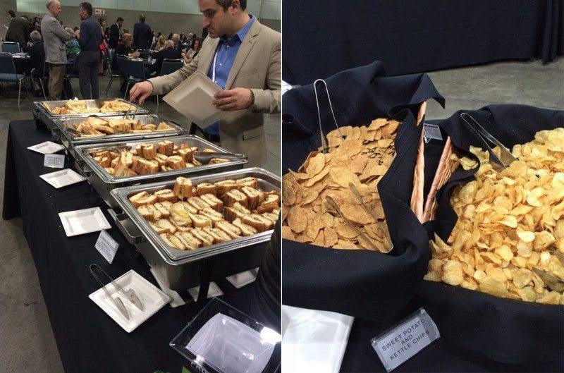 Lunch på fetmakonferens