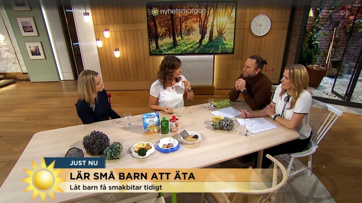 Smakäventyret: Ann Fernholm på Nyhetsmorgon