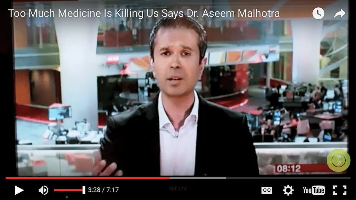 För mycket medicin tar livet av oss