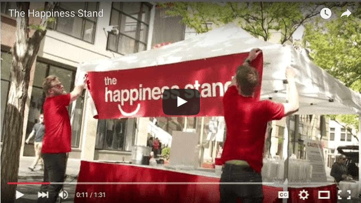 The Happiness Stand