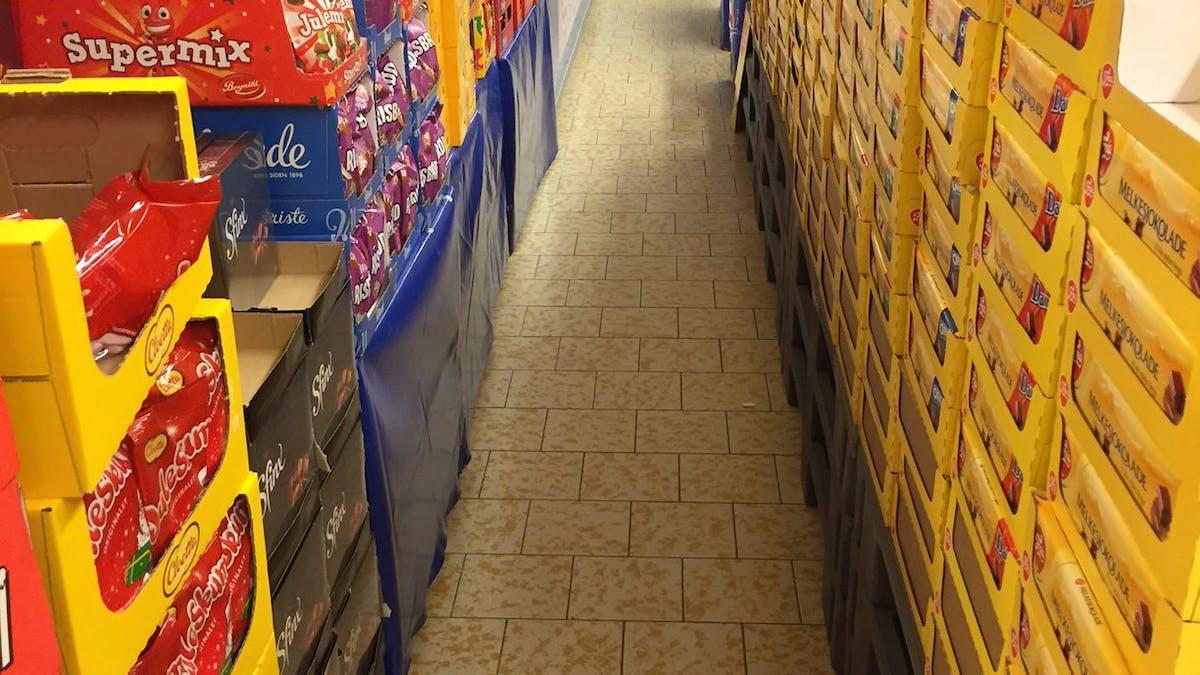 Vägen till kassan är fylld av faror - särskilt för den sockerberoende