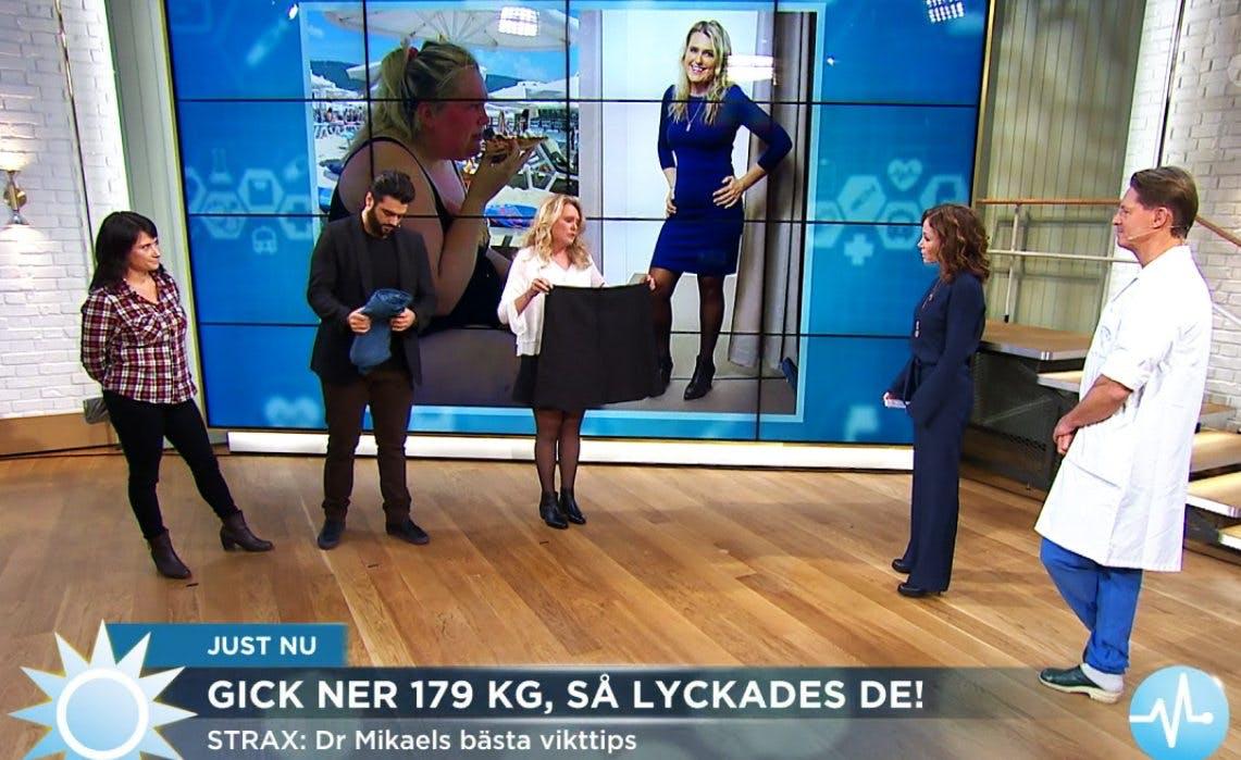 Halva Lindha i TV7:s mossiga bantarprogram