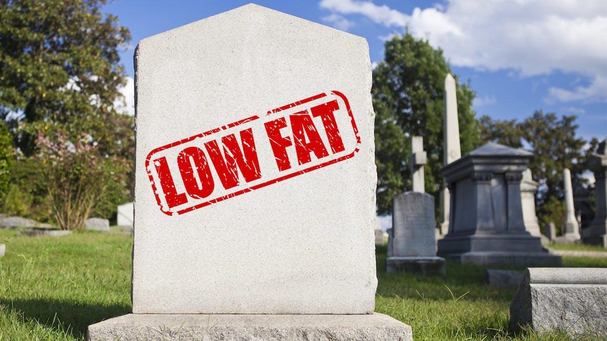 """""""Den fettsnåla kosten har varit en av de största katastroferna för modern sjukvård"""""""