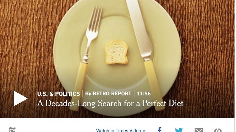 """Den vetenskapliga grunden för fettsnåla kostråd? """"Kvalificerade gissningar"""""""