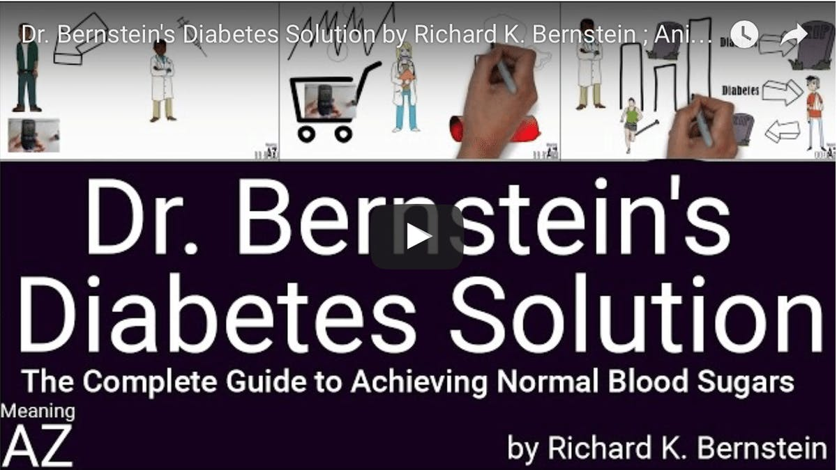 Dr Bernsteins Diabetes Solution – briljant kort video