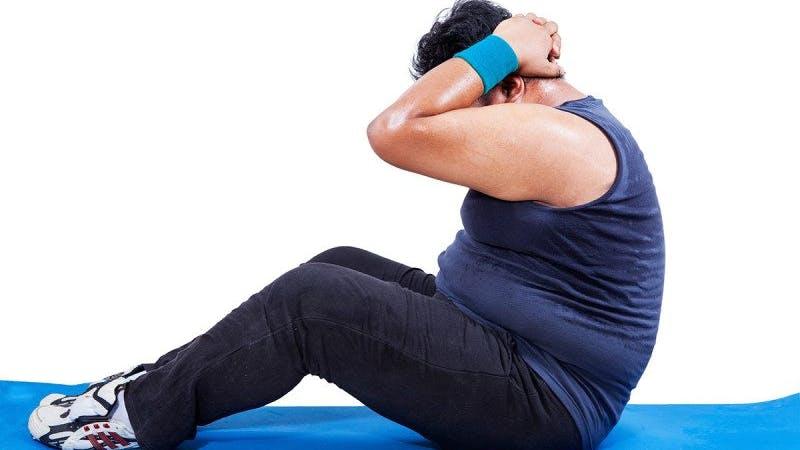 Ny studie kanske visar varför träning är värdelös för viktnedgång