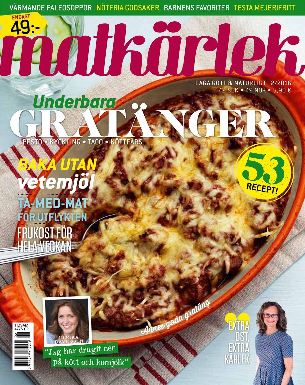 Årets andra nummer av Matkärlek
