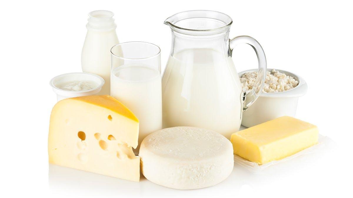 Svårt att gå ner i vikt? Dra ner på mejeriprodukterna!