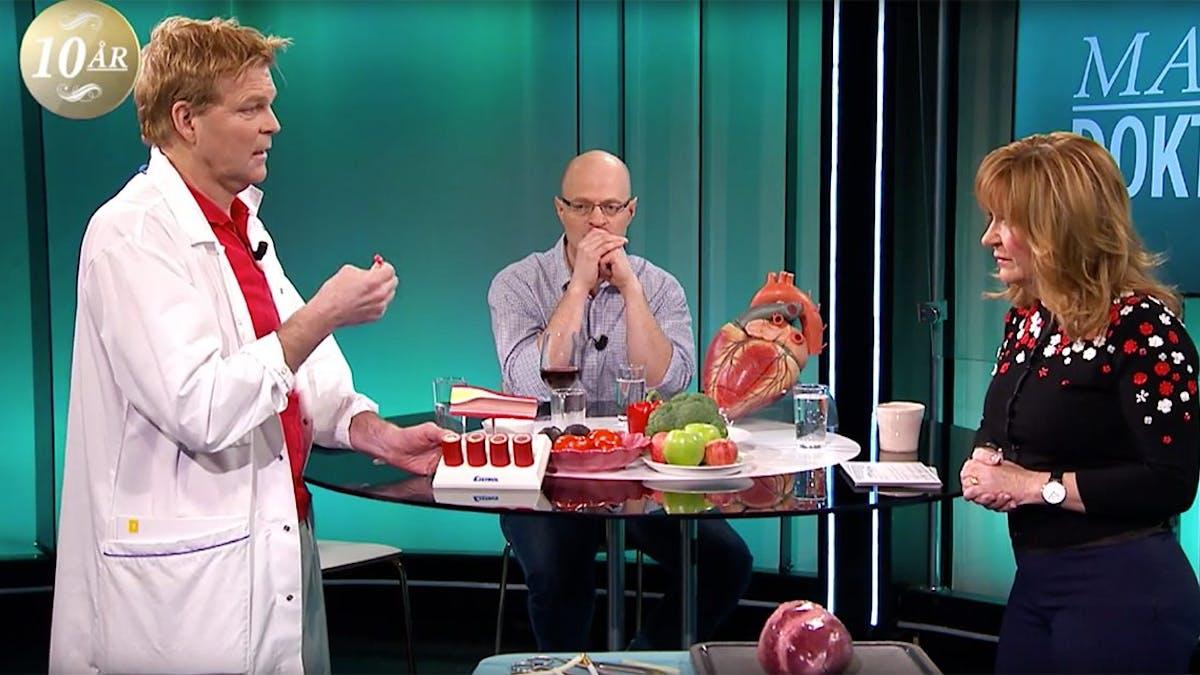 """TV-historia: """"Problem med hjärtat får man inte av fett, det får man av socker"""""""