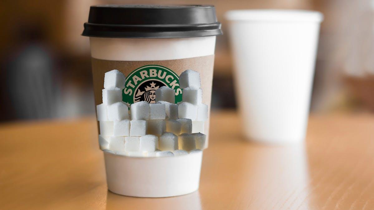 """Varning för """"chockerande"""" sockernivåer på Starbucks"""